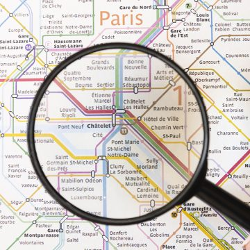 La carte de France du chômage depuis 10 ans